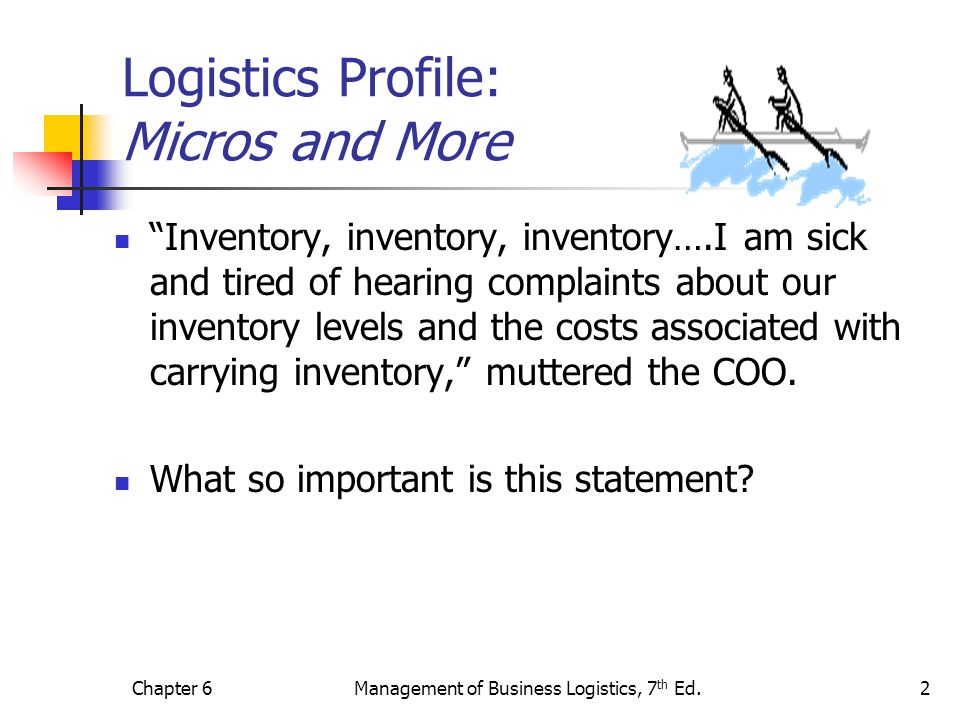 Logistics Profile: Micros and More