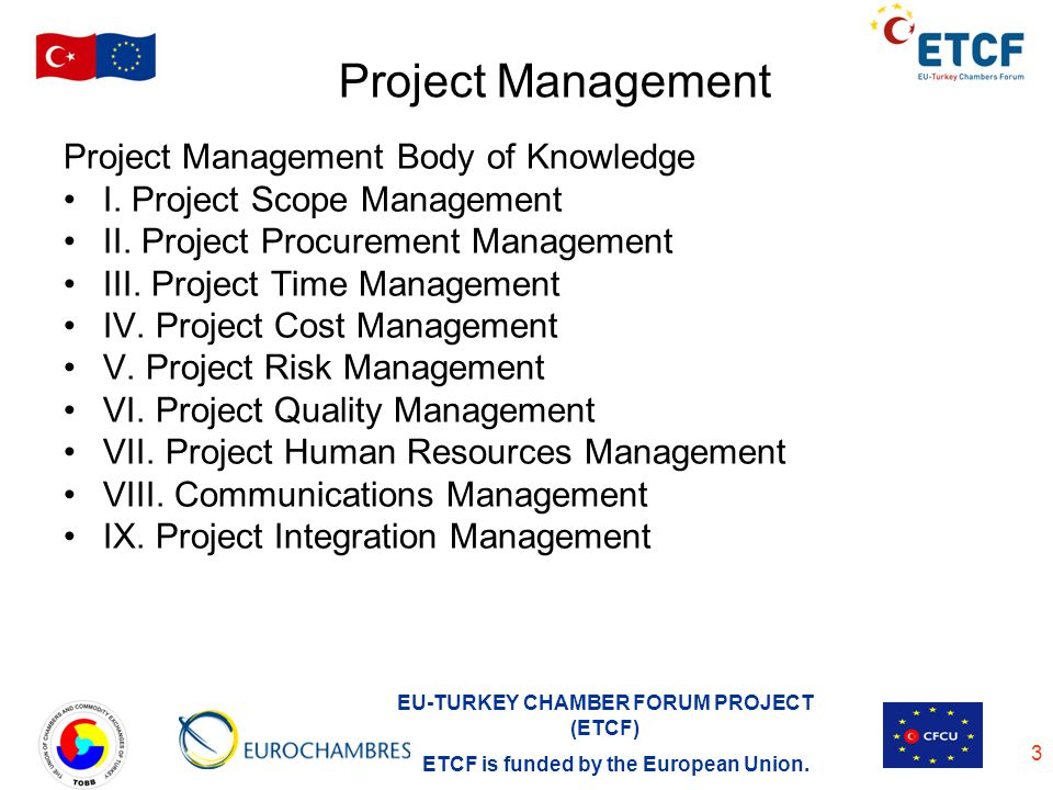 Project Management Project Management Body of Knowledge
