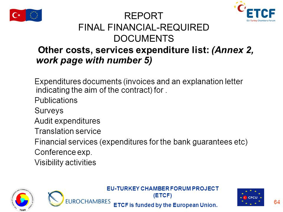 REPORT FINAL FINANCIAL-REQUIRED DOCUMENTS