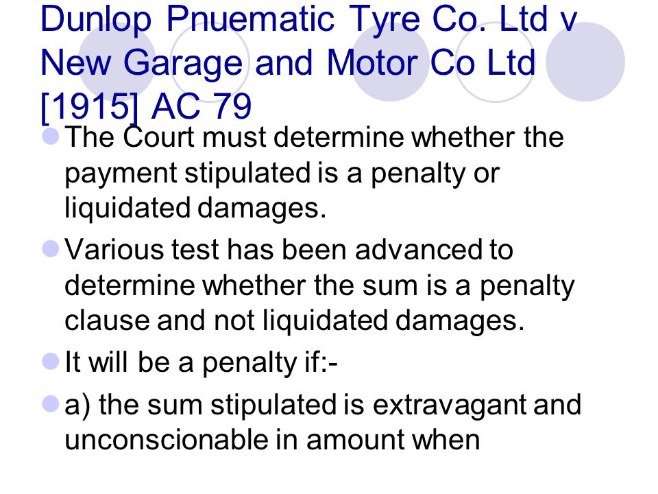 Dunlop Pnuematic Tyre Co