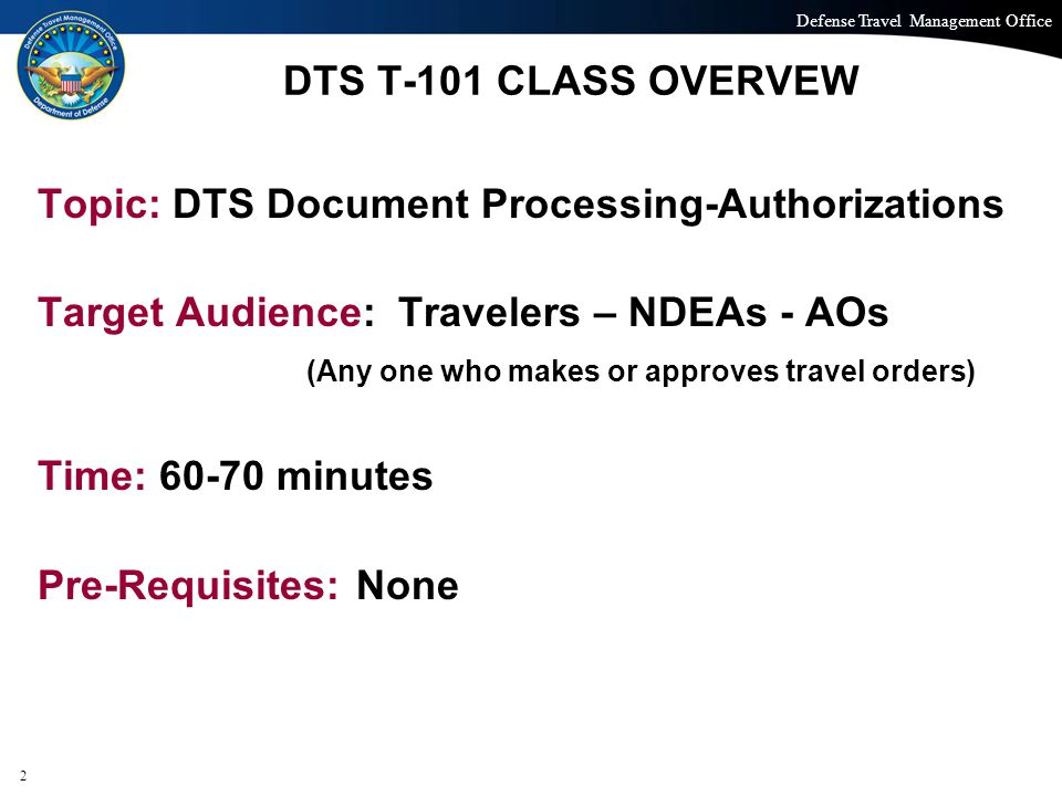 Topic: DTS Document Processing-Authorizations