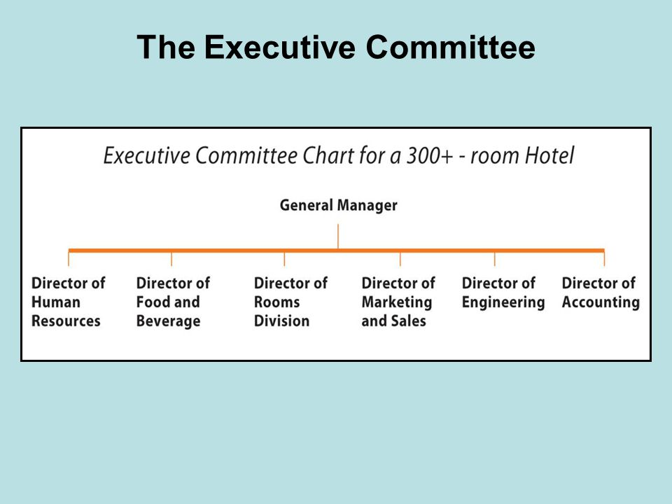 The Executive Committee