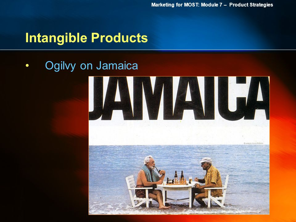 Intangible Products Ogilvy on Jamaica