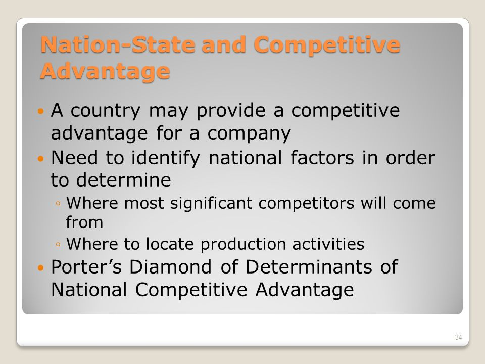 national competitive advantage International journal of academic research in business and social sciences february 2013, vol 3, no 2 issn: 2222-6990 446 wwwhrmarscom/journals.