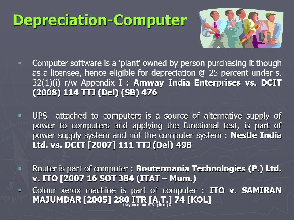 Depreciation-Computer