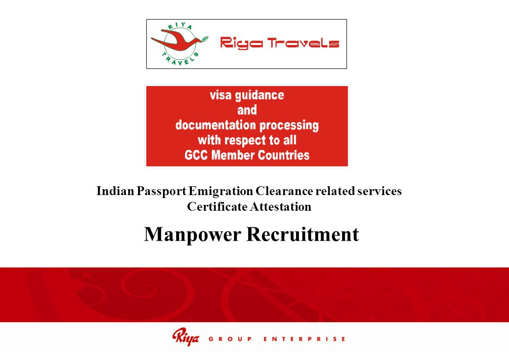Indian Passport Emigration Clearance related services