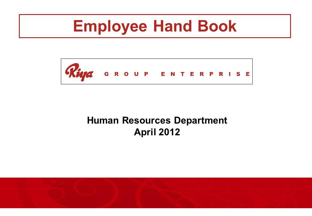 Human Resources Department