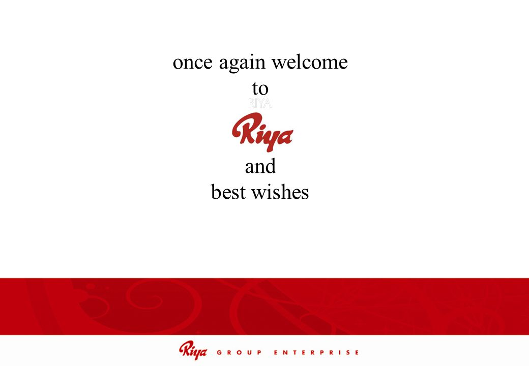 once again welcome to and best wishes