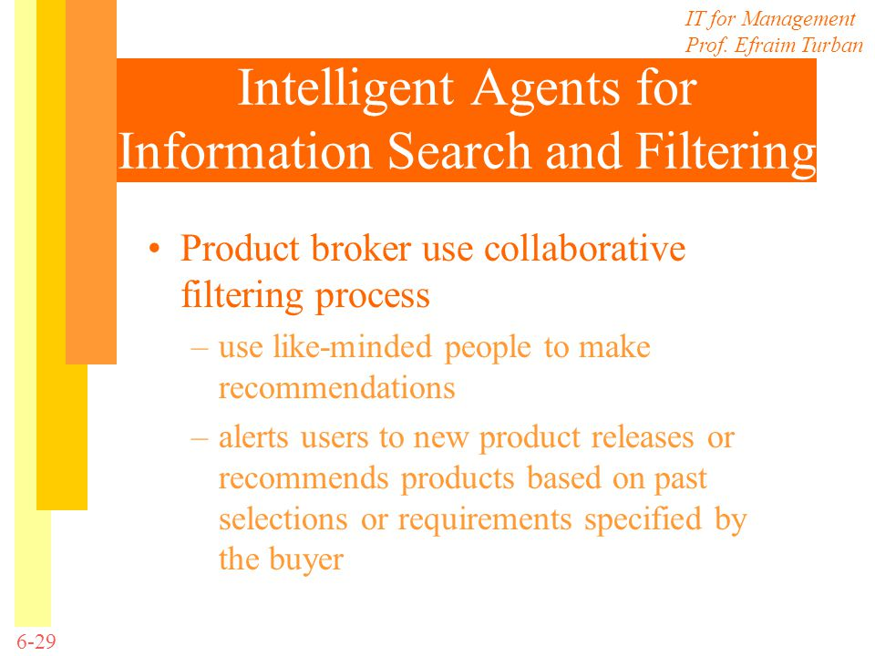 Intelligent Agents for Information Search and Filtering