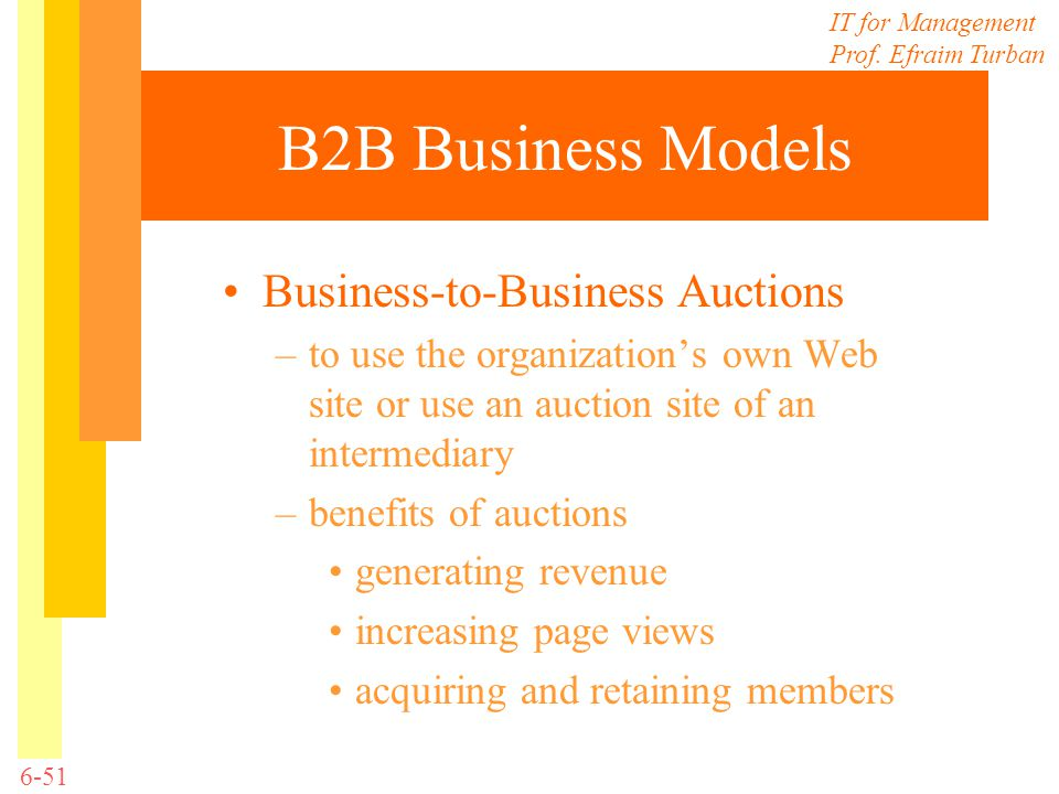 B2B Business Models Business-to-Business Auctions