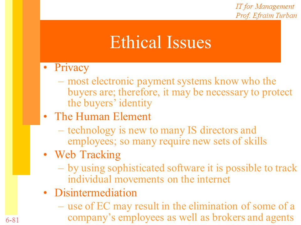 Ethical Issues Privacy The Human Element Web Tracking