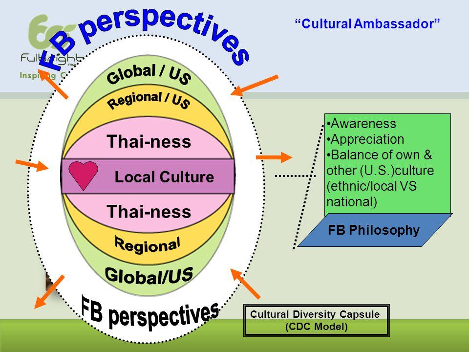 Cultural Ambassador Cultural Diversity Capsule