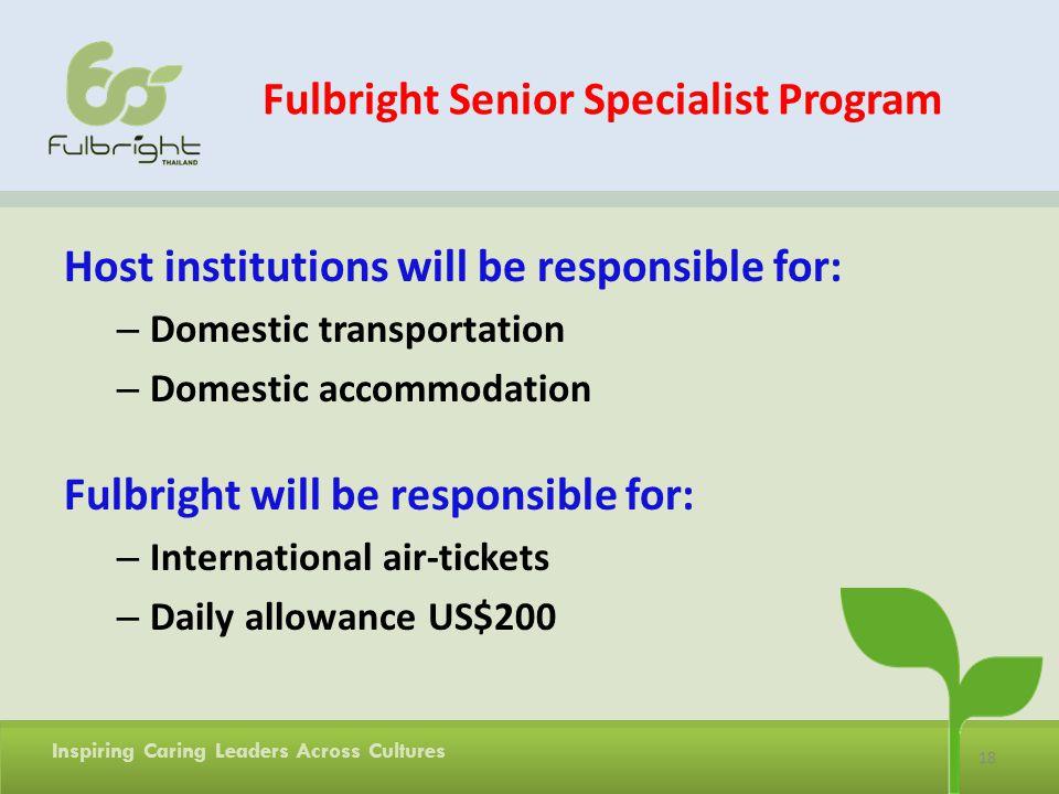 Fulbright Senior Specialist Program
