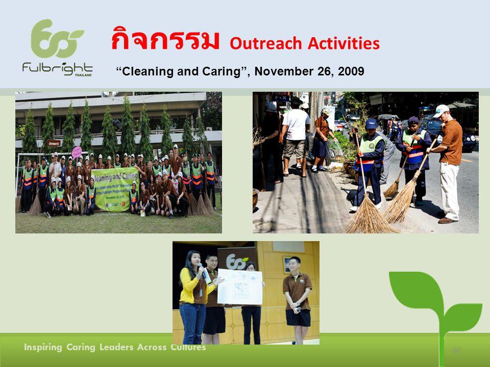 กิจกรรม Outreach Activities