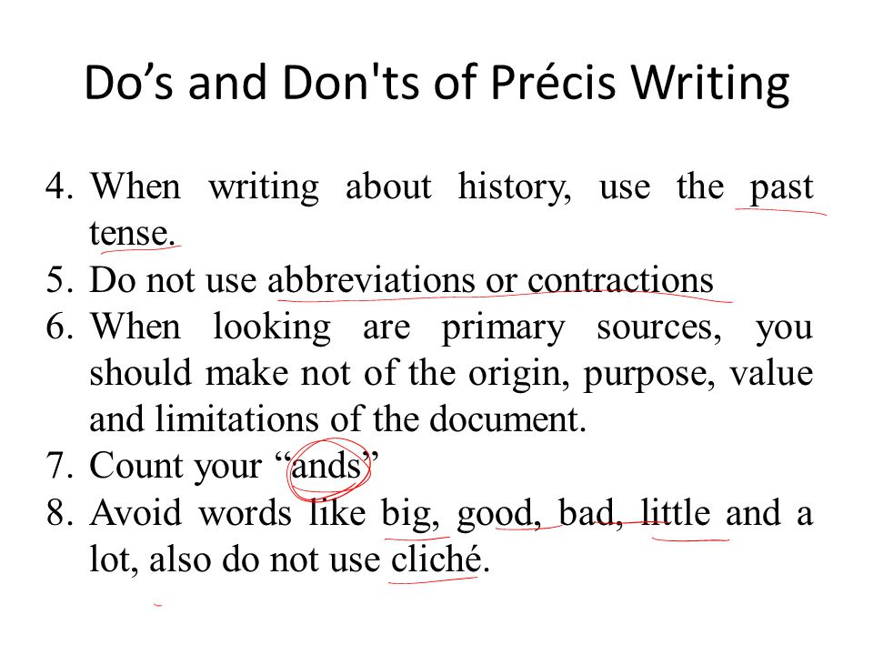 Top precis writing services london
