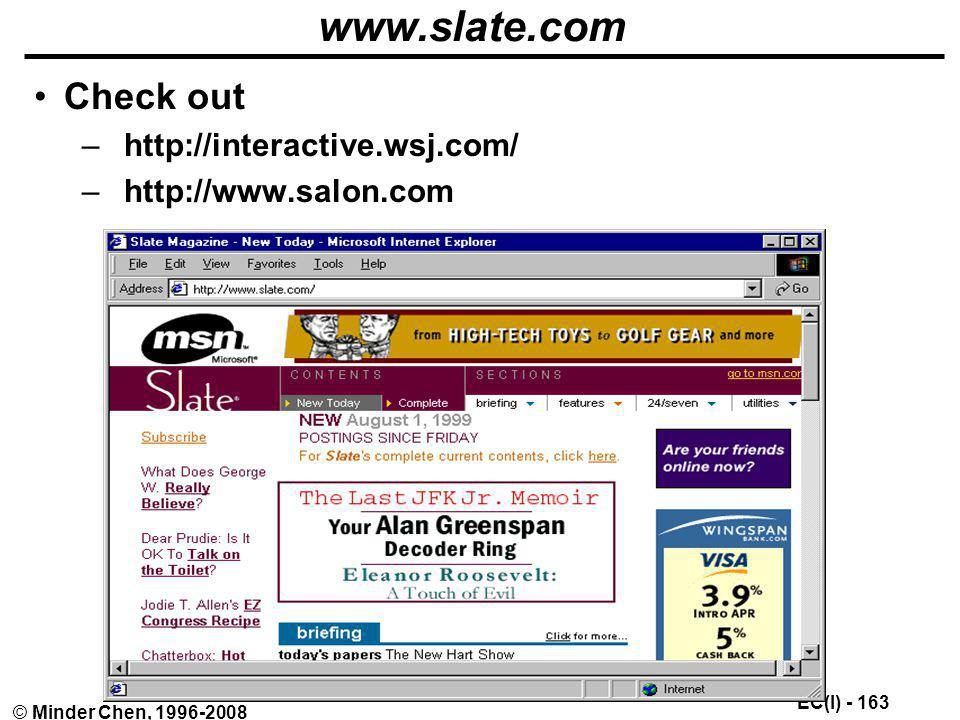 www.slate.com Check out http://interactive.wsj.com/