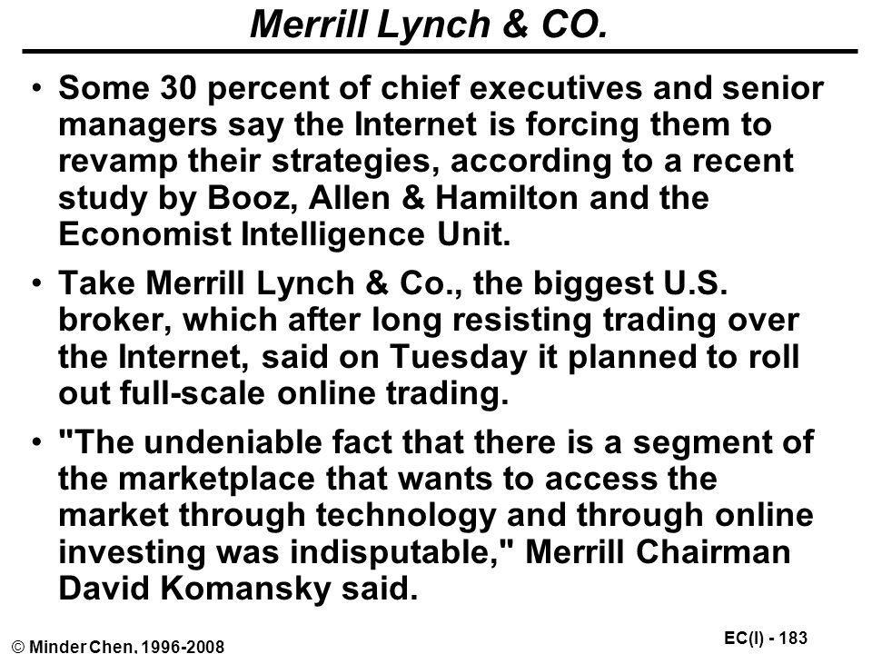 Merrill Lynch & CO.
