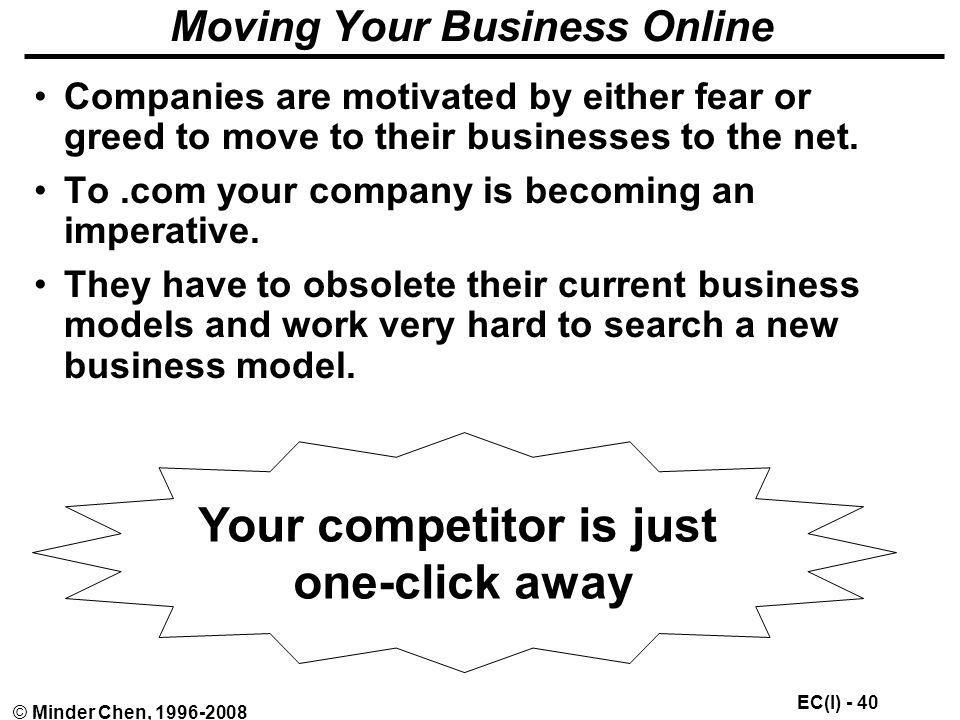 Moving Your Business Online