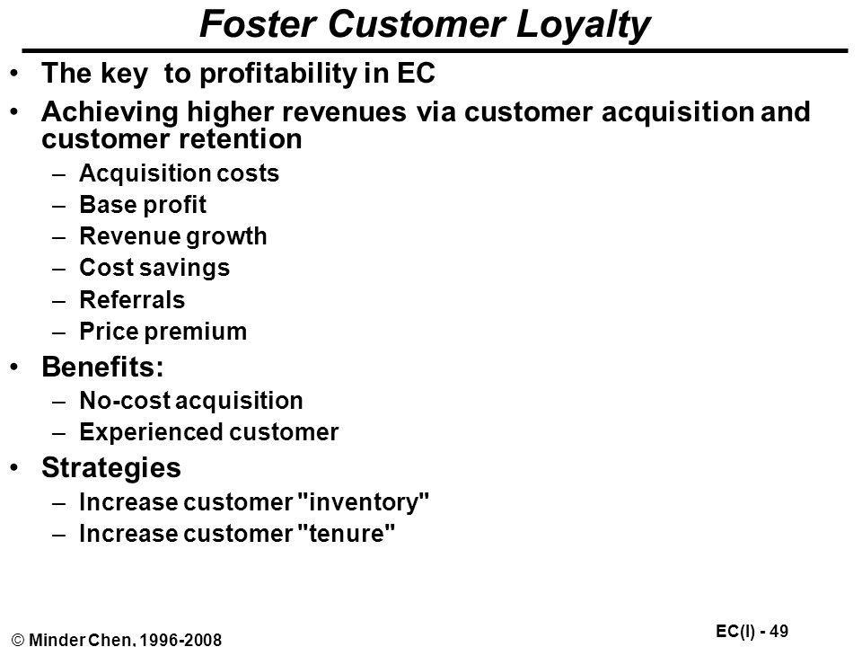 Foster Customer Loyalty