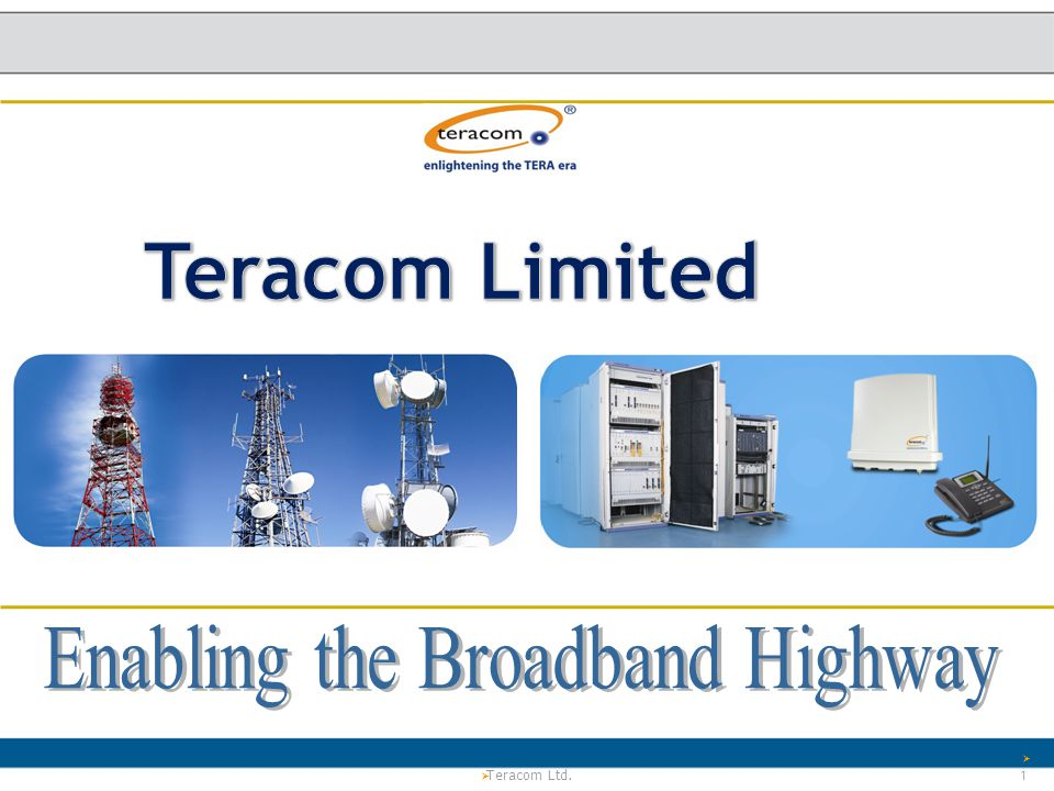 Enabling the Broadband Highway
