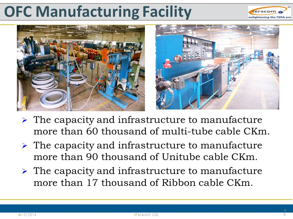 OFC Manufacturing Facility