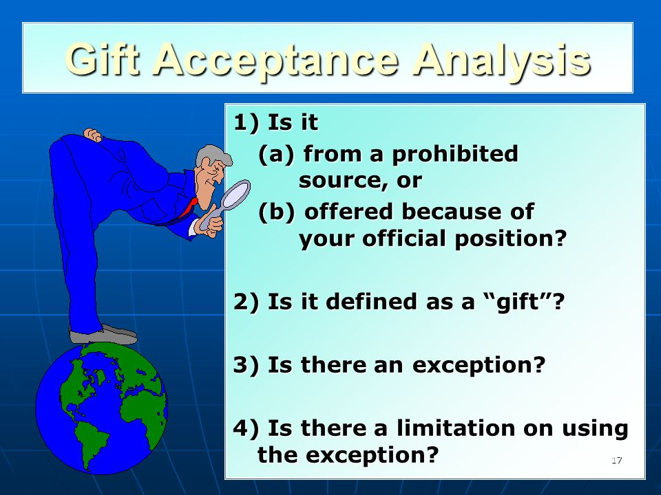 Gift Acceptance Analysis
