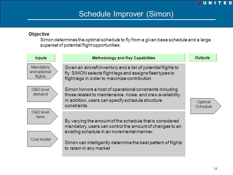 Schedule Improver (Simon)
