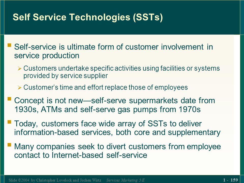 Self Service Technologies (SSTs)