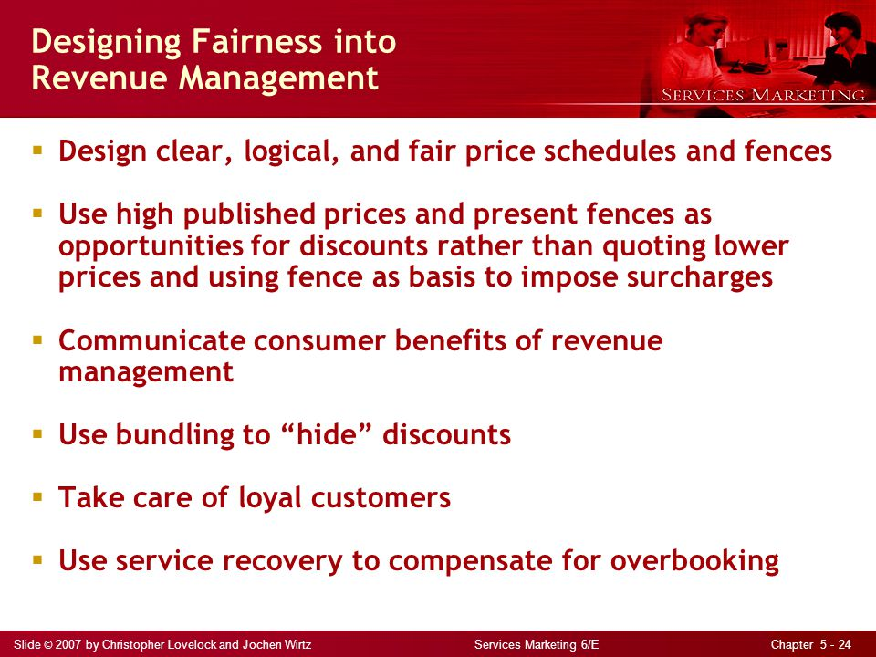 Designing Fairness into Revenue Management