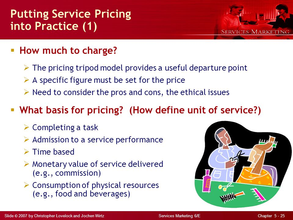 Putting Service Pricing into Practice (1)
