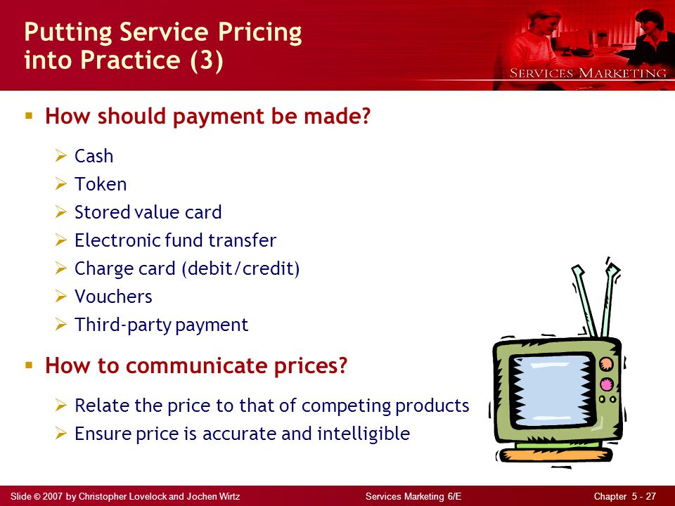 Putting Service Pricing into Practice (3)