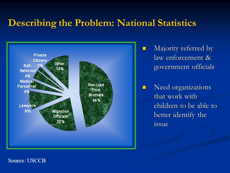 Describing the Problem: National Statistics