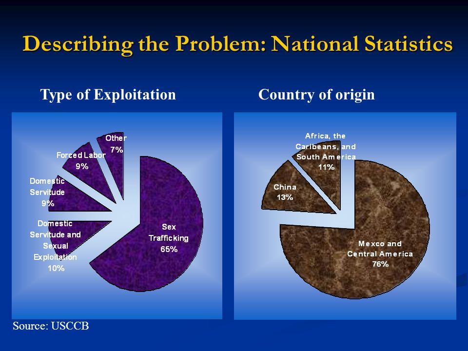 Describing the Problem: National Statistics