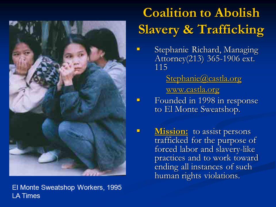 Coalition to Abolish Slavery & Trafficking