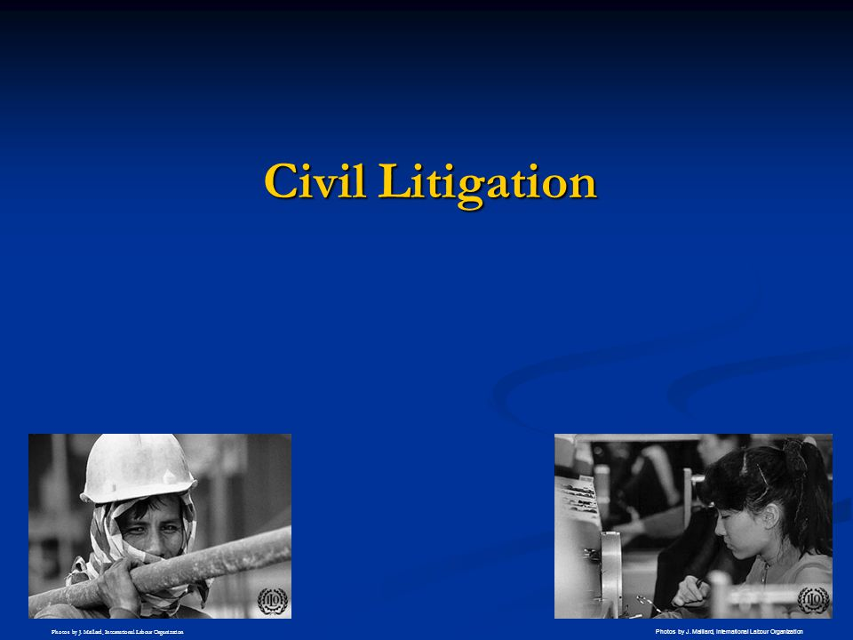 Civil Litigation Briefly Civil Litigation. Interested have more advanced course on this—which take own 2 hours.