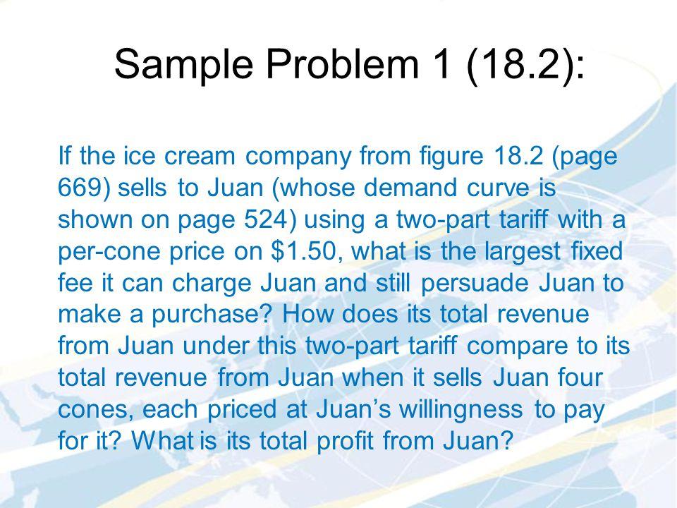 Sample Problem 1 (18.2):