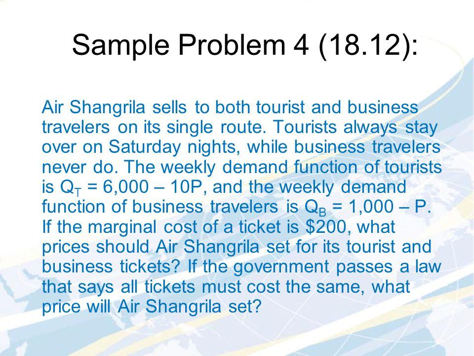 Sample Problem 4 (18.12):
