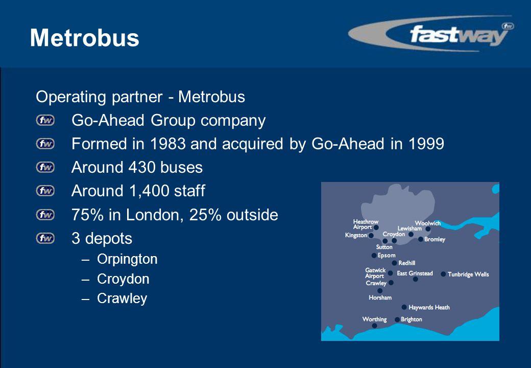 Metrobus Operating partner - Metrobus Go-Ahead Group company