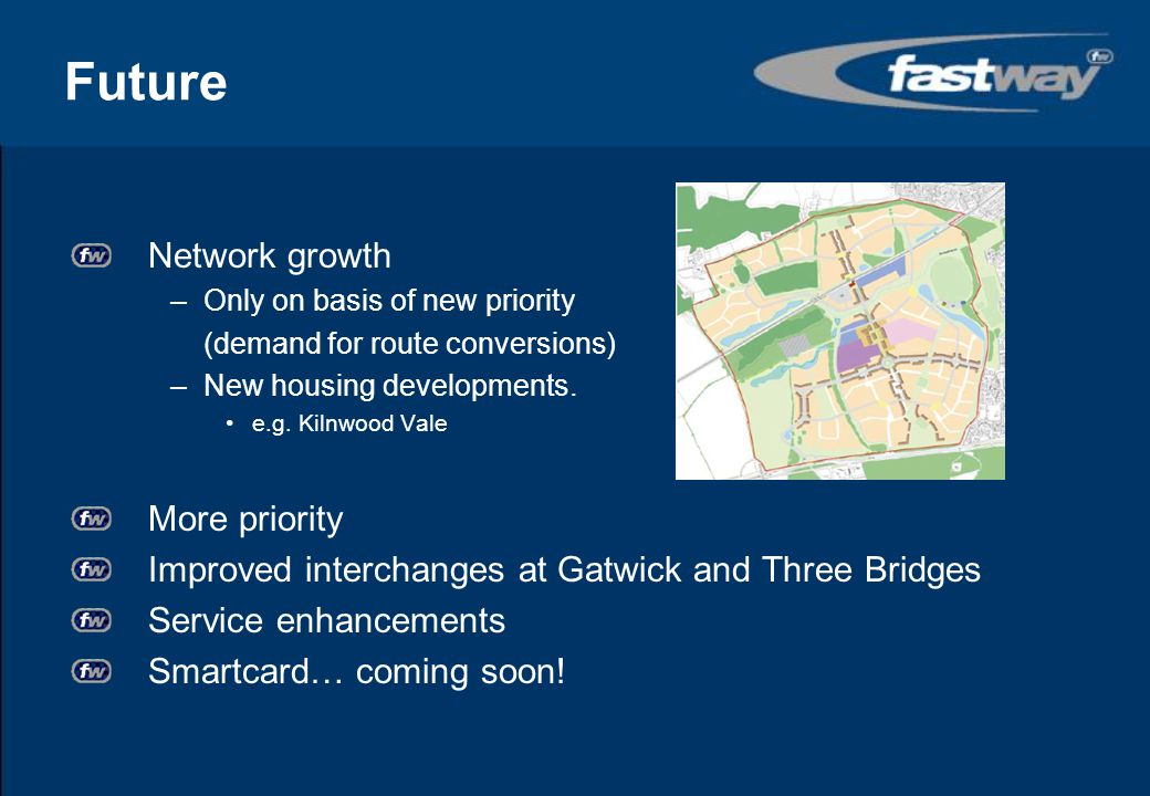 Future Network growth More priority