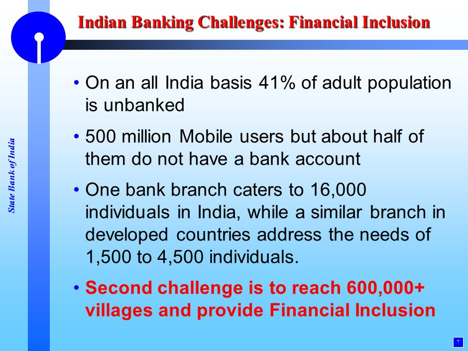 Indian Banking Challenges: Scaling Up