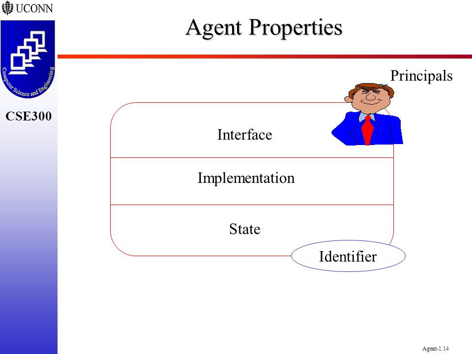 Agent Properties Principals Interface Implementation State Identifier