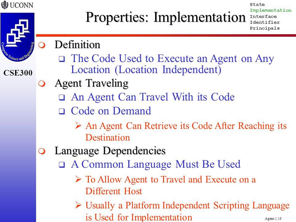 Properties: Implementation