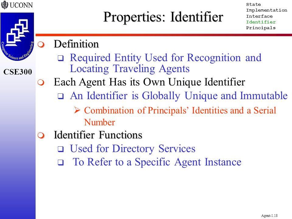 Properties: Identifier