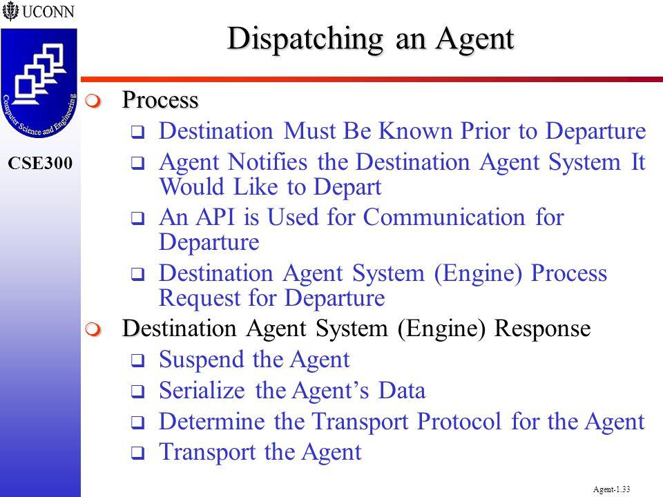 Dispatching an Agent Process