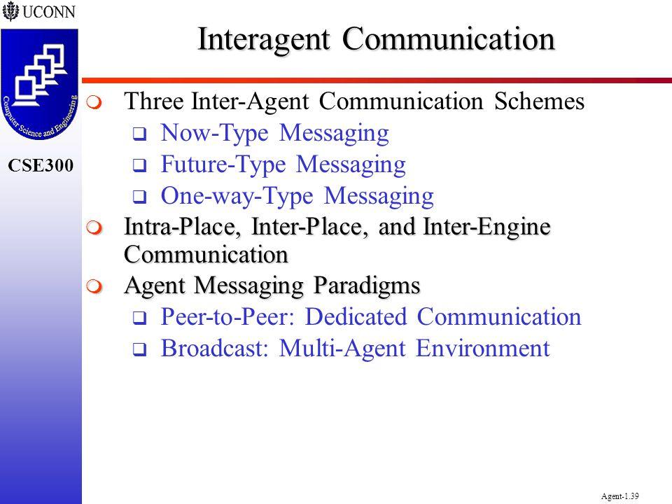 Interagent Communication