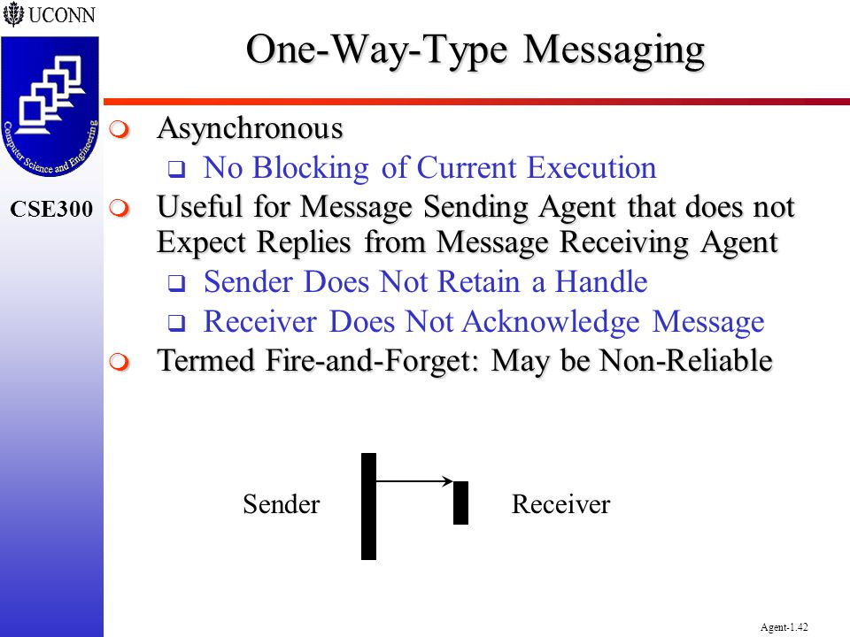 One-Way-Type Messaging