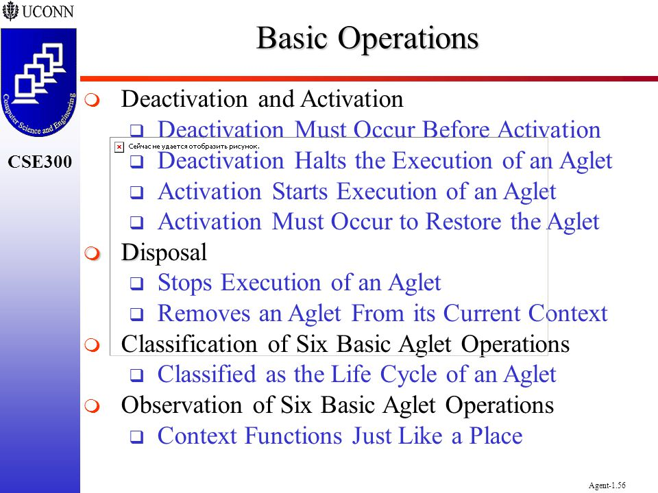 Basic Operations Deactivation and Activation