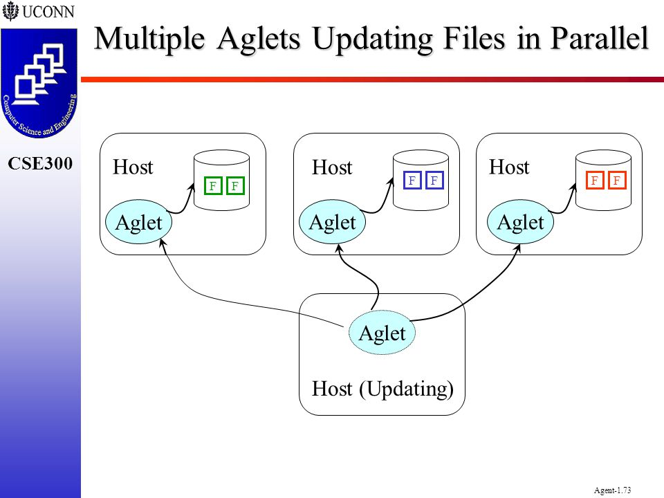 Multiple Aglets Updating Files in Parallel