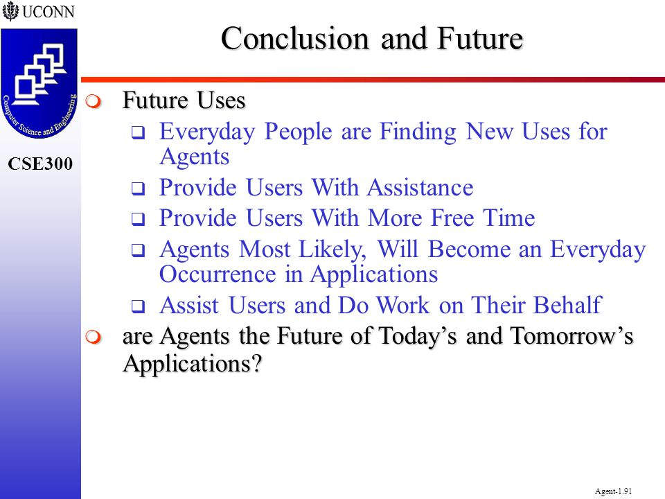Conclusion and Future Future Uses