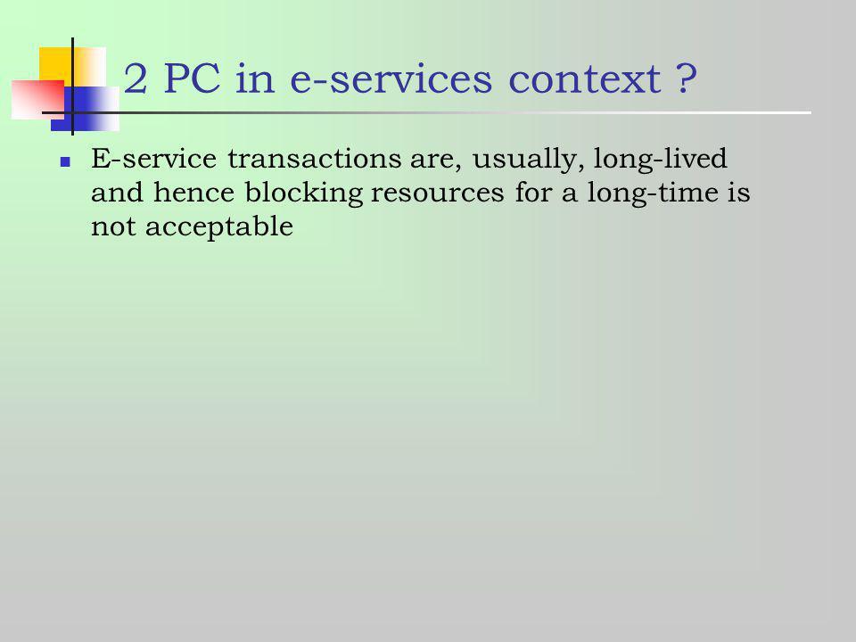 2 PC in e-services context